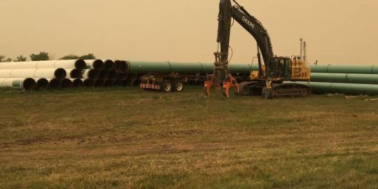 Enbridge shows off early stages of Line 3 replacement near Morden