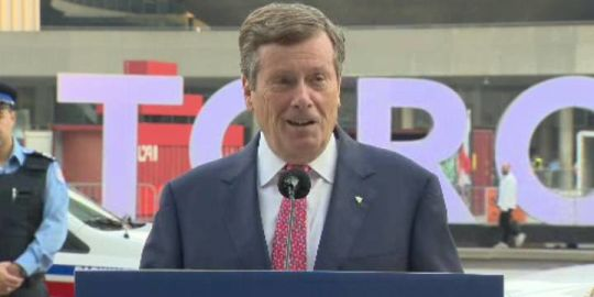 Mayor Tory says Toronto must convey dissatisfaction over Ontario government move to cut council