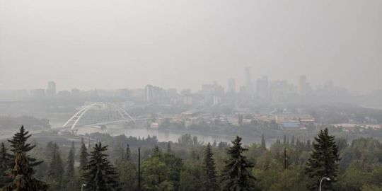 Edmontonians wake up to another smoky sky, but air quality advisory expected to improve