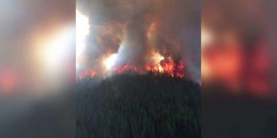 B.C. Wildfire Saturday: Kimberley remains on evacuation alert amid growing Meachen Creek fire