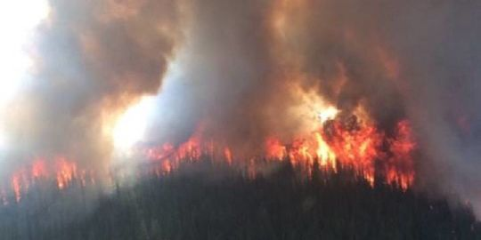 Smoke-filled skies hampering attempts to map out wildfires: B.C. Wildfire Service