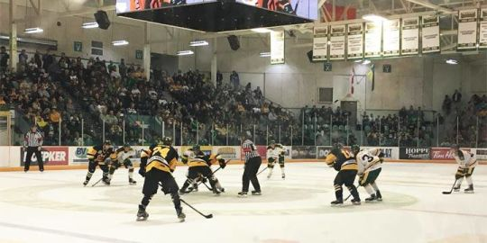 Nipawin Hawks hold on to beat Broncos 2-1 at home opener in Humboldt