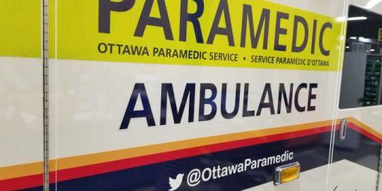 Woman, 23, dies after dump truck, car collide in west end