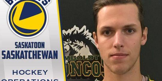 Former Humboldt Bronco Xavier Labelle joins Saskatoon Blades