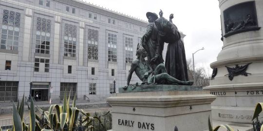 San Francisco removes statue some call demeaning to indigenous people