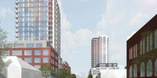 Kingston reaches deal with developer for two downtown high-rise apartments