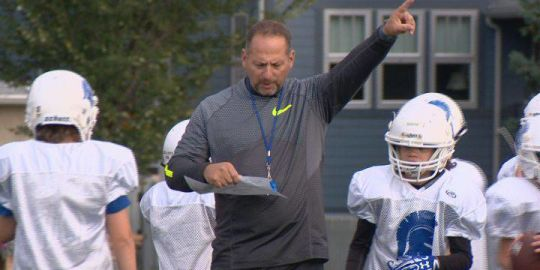 Southern Alberta football coach leading next generation