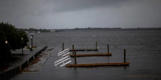 Hurricane Florence has been downgraded to a Category 1 storm — but the danger's far from over