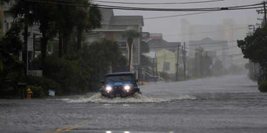 Here's what Hurricane Florence's storm surge looks like