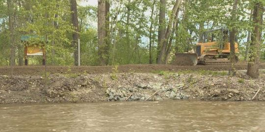 Environmental work on Mission Creek also preventing floods