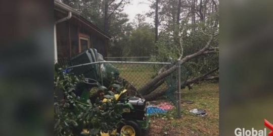 Former Calgarian evacuated from path of destructive tropical storm Florence