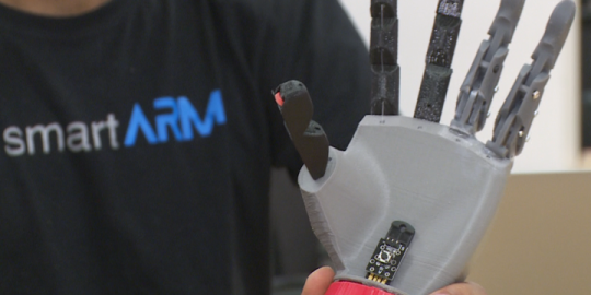 GTA university students create bionic arm less than $1K for amputees