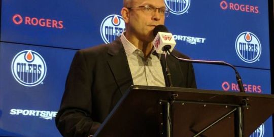 Edmonton Oilers GM Peter Chiarelli hoping new players can fill defensive voids