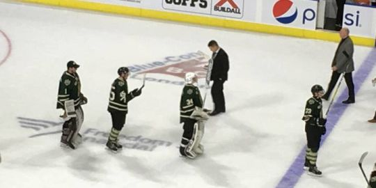 Zach Springer and the London Knights shut out Erie