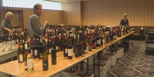 Search for B.C.'s best wine
