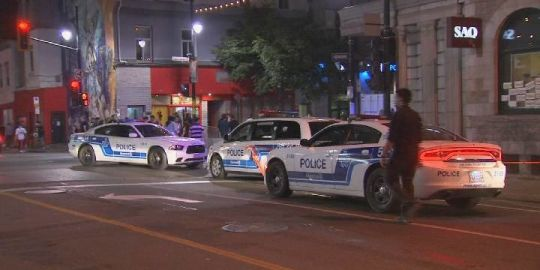 Man, 27, critically injured after shooting on busy downtown Montreal street