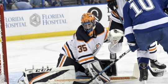 Edmonton Oilers goalie Al Montoya trying to hold on to NHL spot