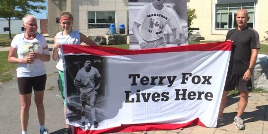 Kingston cancer patient takes on Terry Fox Run
