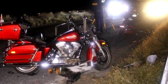 Motorcyclist killed, passenger injured in collision on bridge in Port Hope