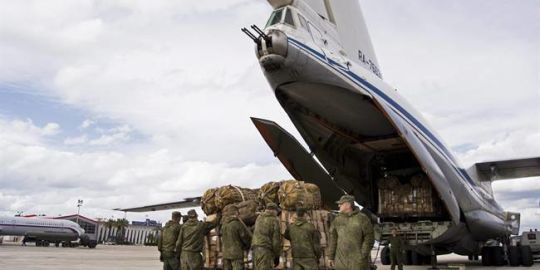 Russia loses contact with aircraft with 14 on board in Syria