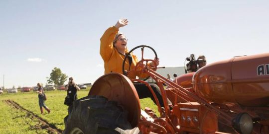 Ontario politicians attend International Plowing Match in Chatham-Kent