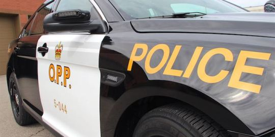 Hwy. 24 in Brant County closed after car collides with dump truck