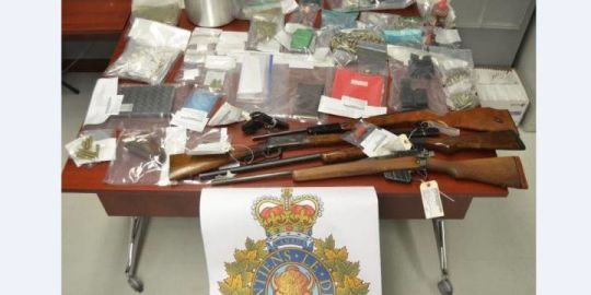 Man facing slew of charges after firearms, drugs seized from Moncton home