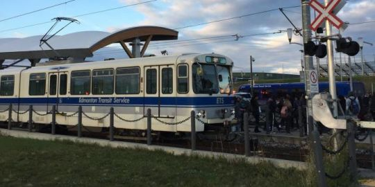'Serious incident' shuts down South Campus LRT station in Edmonton