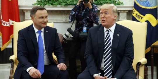Donald Trump is 'very seriously' considering more troops in Poland