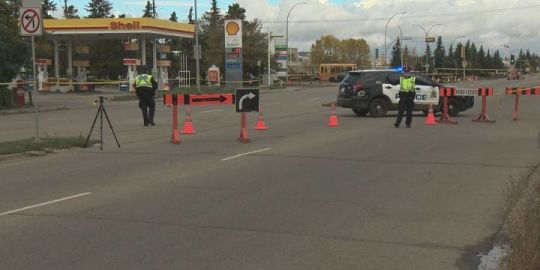 23-year-old woman struck and killed by truck in north Edmonton