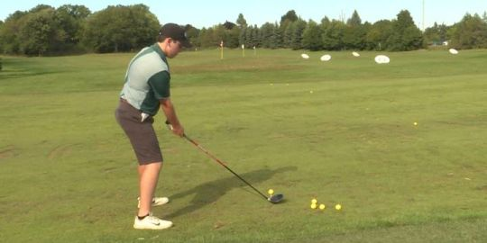 Kingston golfer strives to get better in hopes of heading south of the border