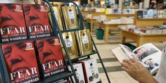 Woodward's tell-all book on Trump, 'Fear,' sells over a million copies in first week