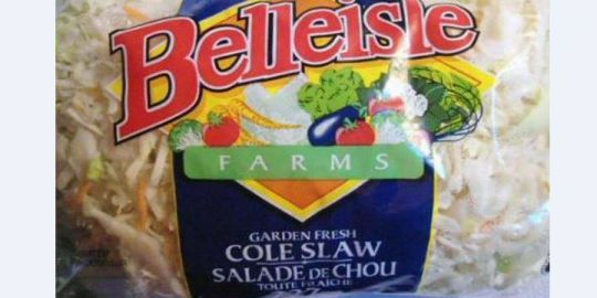 Belleisle Farms brand coleslaw recalled due to possible listeria contamination