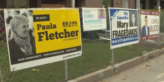 Toronto election: When political allies become friendly foes vying for the same council seat