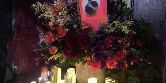 Family, friends hold candlelight vigil for local artist killed in hit and run