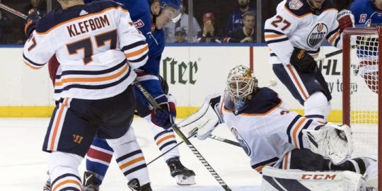 Connor McDavid scores winner as Edmonton Oilers beat New York Rangers