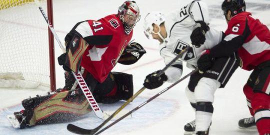 Wideman scores two goals as Ottawa Senators top Los Angeles Kings 5-1