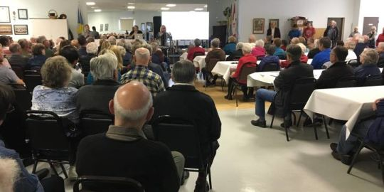 Town hall on controversial Kelowna housing project draws large crowd