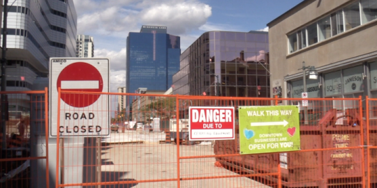 City implements 24/6 schedule to finish Phase 1 of Dundas Place construction
