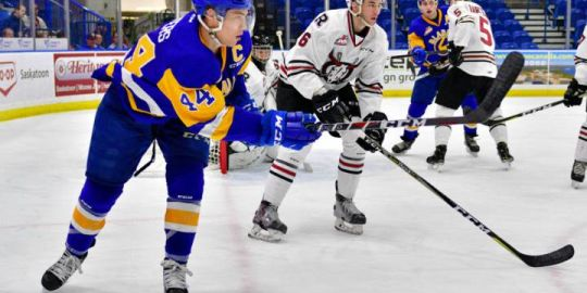 Blades kick off 5-game home stand with 3-2 win over Rebels