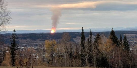 Enbridge begins building road to site of pipeline explosion near Prince George