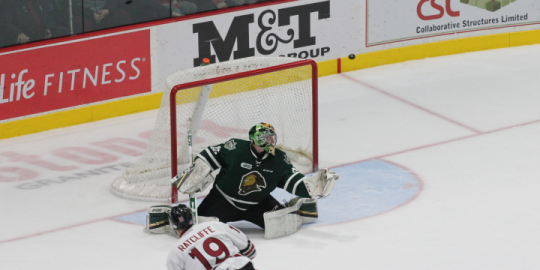 London Knights finish 3 games in 3 days with overtime loss in Guelph
