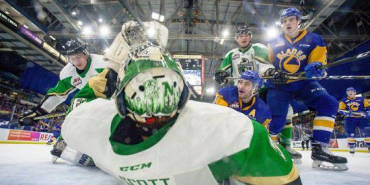 Saskatoon Blades lose tough game against Prince Albert Raiders