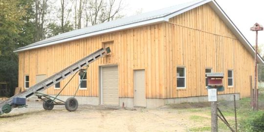 Sandy Pines barn build gains new support before winter hits
