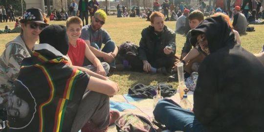 How will you mark Canada's historic marijuana legalization in Alberta?