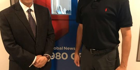 Mayoral contender Paul Cheng talks business, transit on 'London Live'