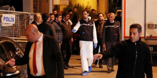 Turkish investigators leave Saudi consulate after nine-hour inspection: witness