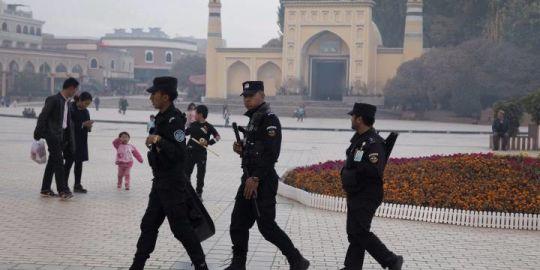 China calls internment camps for Muslim Uighurs 'free vocational training'