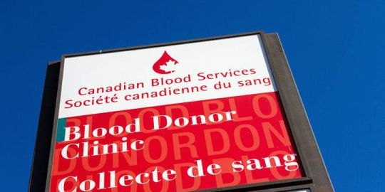Canadian Blood Services looks to decrease required abstinence period for men who have sex with men