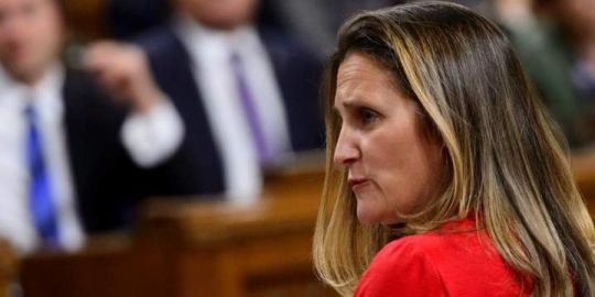 Freeland says Canada has 'worrying' questions for Saudis about Jamal Khashoggi